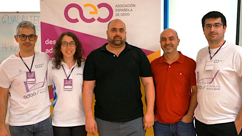 ... y terminaron las Jornadas de Odoo Sevilla 2018