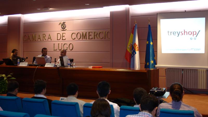 Presentación de TreyShop en las Jornadas de OpenERP en Lugo
