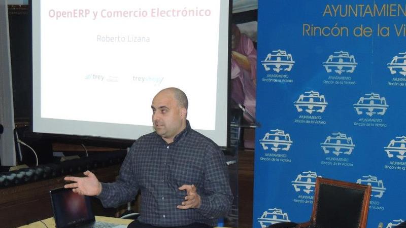 Charla sobre OpenERP y comercio electrónico en la TICWeek