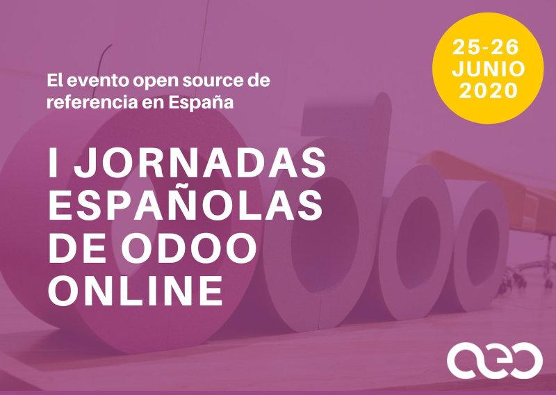 I Jornadas Españolas de Odoo Online 2020
